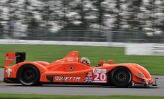 Le Mans series Silverstone 2010.  Team LNT Ginetta-Zytek 09S