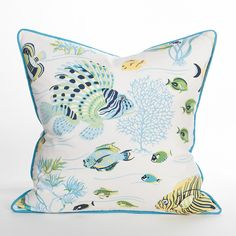 Reef Life Pillow - South Beach - Shop by Collection - Shop