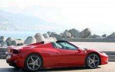HD Ferrari 458 Red Photo 14 Wallpaper