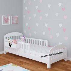 Girl Room, Girls Bedroom, Baby Room, Bedroom Decor, Bedroom Furniture Inspiration, Diy Toddler Bed, Creative Kids Rooms, Baby Cribs, Kid Beds