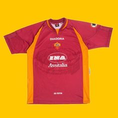 """b978526a872 Football Shirt Collective on Instagram: """"Remembering when Roma x @diadora  had the Colosseum on their shirt 🔥 🇮🇹 ⚽ Link in bio ☝ """""""