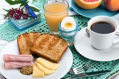 Un desayuno rico, saludable y variado.