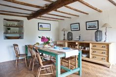 Deborah and Chris Hunt have restored and updated their dream family cottage in the Peak District