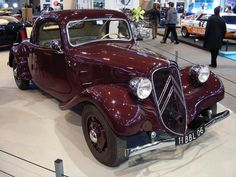 Citroën Traction coupé - 1938