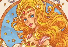 Preview for Create an Art Nouveau-Inspired Glinda Character in Adobe Illustrator