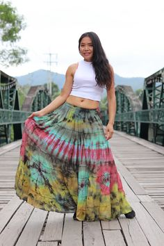 Boho Skirt / Maxi Skirt / Maxi Boho Skirt /Modest Skirt / Beach Skirt /Full Length skirt / Tie Dye Skirt/ Long Skirt Girl Dress Patterns, Blouse Patterns, Skirt Patterns, Coat Patterns, Modest Skirts, Boho Skirts, Maxi Skirt Tutorial, Pink Pencil Skirt, Crochet Skirts
