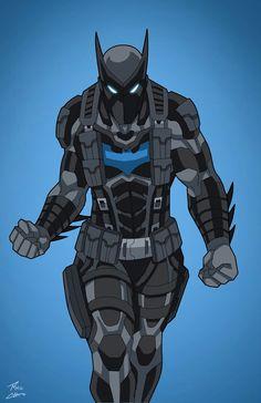 Sons of Batman by phil-cho on DeviantArt Heros Comics, Dc Comics Art, Dc Heroes, Marvel Dc Comics, Superhero Characters, Dc Comics Characters, Fictional Characters, Batman Redesign, Batman Suit
