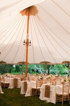 pretty party tent