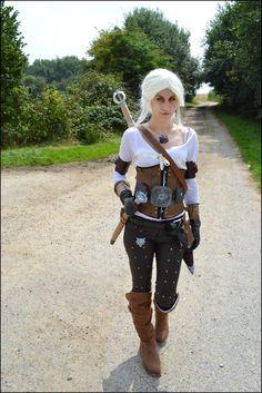Ciri Witcher 3 by JaniiCosplay.deviantart.com on @DeviantArt Ciri Witcher, The Witcher, Costume Ideas, Costumes, Witcher 3 Wild Hunt, Video Games, Hipster, Cosplay, Deviantart
