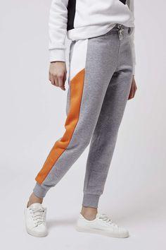 Colour Block Joggers - Sportswear - Clothing