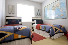 Tween & Teen Boys Room Decorating Ideas - Design Dazzle