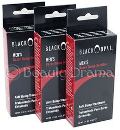 Black Opal Anti-Bump Treatment Razor Bump Solution 3pc Deal