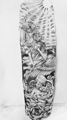 Half Sleeve Tattoos Drawings, Half Sleeve Tattoos For Guys, Half Sleeve Tattoos Designs, Best Sleeve Tattoos, Best Tattoo Designs, Cloud Tattoo Sleeve, Forarm Tattoos, Dope Tattoos, Forearm Tattoo Men