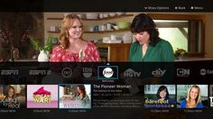 This undated image provided by SlingTV shows a view of the network miniguide on the Sling TV app. The Sling TV service is aimed at people who have dropped Sling Tv Channels, Tv Options, Cable Options, Cut Cable, Internet Tv, Internet Television, Television Online, Television Set, Cards