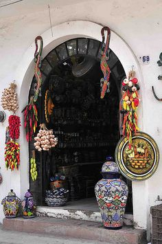 Cute Little Shop in Puerto Vallarta, Mexico