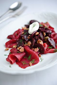 Beetroot salad by Genevieve Taylor (UK)