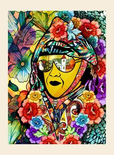 Cartaz Gonzagão - Um breve romance Madhubani Art, Illustration, Doodles Zentangles, Arte Pop, Psychedelic Art, Urban Art, Doodle Art, Art Pictures, Artsy Fartsy