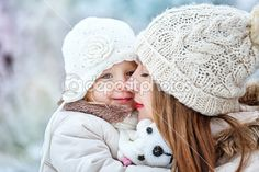 Photo about Young mother holding a daughter in a winter forest for a walk. Image of clothing, daughter, hand - 37559075 Family Stock Photo, Family Photos, Cute Family, Family Kids, Baby Center, Holiday Photo Cards, Second Child, Healthy Kids, Eating Healthy