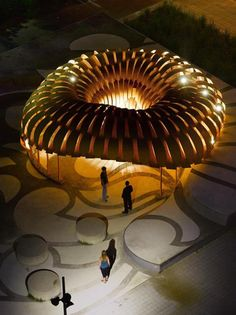 """""""ICD + ITKE Research Pavilion 2010"""" @ Stuttgart, Germany (by ICD & ITKE)"""