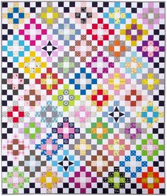 The Scrappy Day Trip Quilt - Pattern Available | Red Pepper Quilts 2016