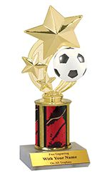 Who can say they wouldn't want a soccer trophy as cool as this? The ball even spins for real! Some cool trophies can be found here: http://www.quicktrophy.com/ #soccer #quicktrophy