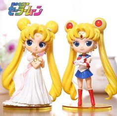 "Anime Qposket Sailor Moon Tsukino Usagi 6"" Toy Figure Figurine Doll New in Box"