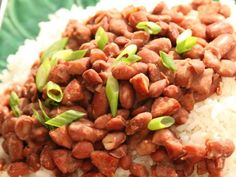 Slow Cooker Red Beans and Rice - Five Ingredient Fix - Claire Robinson - Recipe from Food Network