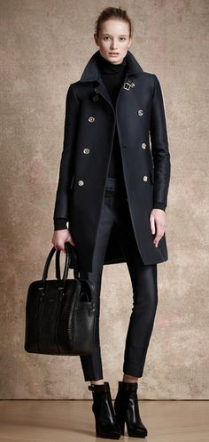 """pretaportre: """" In love with this collection! Belstaff Pre-Fall 2013 via Vogue. Style Work, Mode Style, Style Me, Look Fashion, Fashion Show, Womens Fashion, Fashion Trends, Runway Fashion, Fall Fashion"""