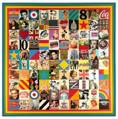 100 Sources of Pop Art by Sir Peter Blake
