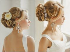 Wonderful easy and stylish wedding ceremony coiffure: methods and ideas development you're a easy lady and don't wish to look primed. On your wedding ceremony. Wedding Braids, Romantic Wedding Hair, Long Hair Wedding Styles, Wedding Hairstyles For Long Hair, Romantic Hairstyles, Bohemian Hairstyles, Retro Hairstyles, Loose Hairstyles, Big Curls