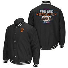 San Francisco Giants 2014 World Series Champions Wool Jacket