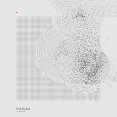 Generative Sketches (); Grid Studies by Refik Anadol Personal experiments with generative softwate tools. Main purpose of the studies are to examine possibilities of self-explanotary language creation between software and viewer. Made by Processing.