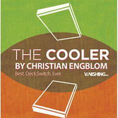 The Cooler (DVD and Gimmick) by Christian Engblom - Magic Tricks Paul Wilson, Magic Props, Close Up Magic, Real Ghosts, Bicycle Playing Cards, Magic Tricks, Classic Toys, Deck Of Cards, The Magicians
