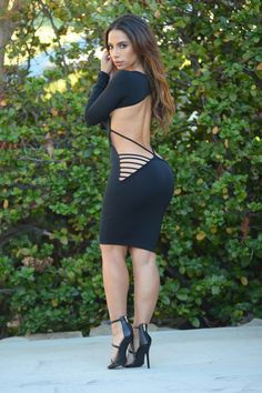 Bring Sexy Back Dress - Black | Fashion Nova