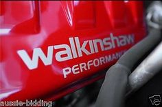"""VE Walkinshaw HSV Engine cover stickers Silver In Colour """"FREE Delivery"""""""