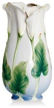 Franz Porcelain Collection Calla Lily Vase