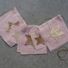 Girls Pink Star Flag