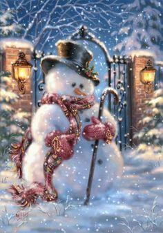 I Love Snowmen