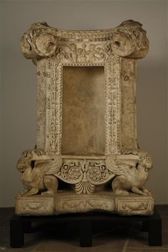 Four-sided base (altar?)  Flavian, 2nd half of 1st century AD