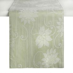 Flowers are a great way to freshen up a dining table, sideboard or console for spring. The floral scroll pattern on our elegant runner adds the perfect touch to your home. Scroll Pattern, The Perfect Touch, Table Runners, Dining Table, My Favorite Things, Floral, Food, Home Decor, Decoration Home