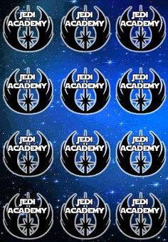 Jedi training academy free printable badges