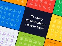 LineKing iOS Icons by Pixel Bazaar on @creativemarket
