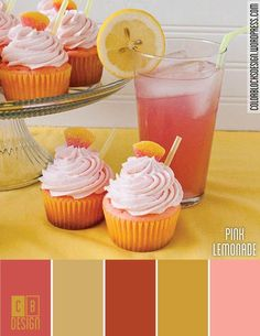 Pink Lemonade | Color Blocks Design
