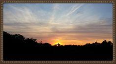 Christ of the Ozarks Eureka Springs, Arkansas Eureka Springs, Arkansas, Places Ive Been, Christ, Passion, Celestial, Play, Sunset, Travel