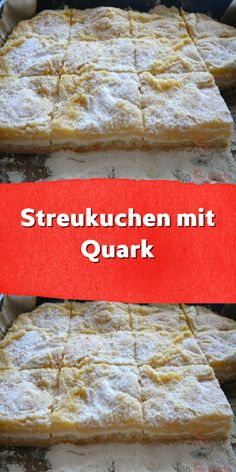 Scatter cake with curd cheese-Streukuchen mit Quark A very simple cake that can be prepared without … - Lose Weight Naturally, Healthy Diet Plans, Baking Sheet, Kefir, Eating Habits, Peppermint, Martini, Cake Recipes, Bakery