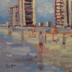 Heidi Malott Original Paintings: beach