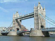Tower Bridge in London, England