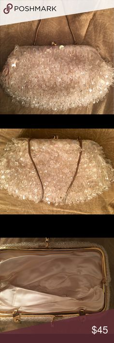Vintage beaded clutch Nice vintage beaded clutch 👛 by ADG MADE IN HONG KONG Vintage Bags Clutches & Wristlets