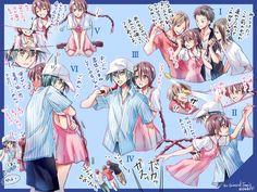 pixiv(ピクシブ)は、作品の投稿・閲覧が楽しめる「イラストコミュニケーションサービス」です。幅広いジャンルの作品が投稿され、ユーザー発の企画やメーカー公認のコンテストが開催されています。 Prince Of Tennis Anime, Anime Prince, Rwby Pyrrha, Tennis Pictures, Cute Anime Couples, Doujinshi, Romance, Anime Love, Pretty Pictures