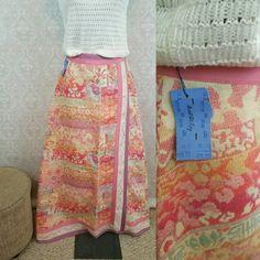 Vintage Malbe maxi skirt $98 https://www.etsy.com/listing/259743318/vintage-nwt-malbe-skirt